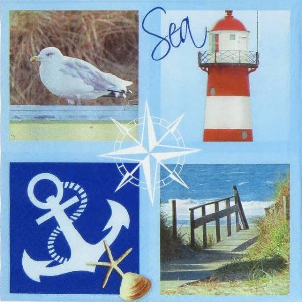 Paper Napkin - Sul Mare Sea