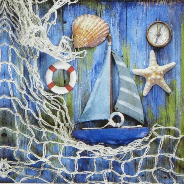 Paper Napkin - Sea Costal Memories