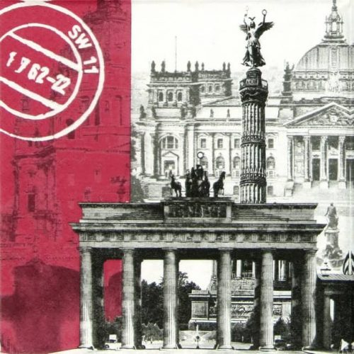 Paper Napkin - Berlin Brandenburg