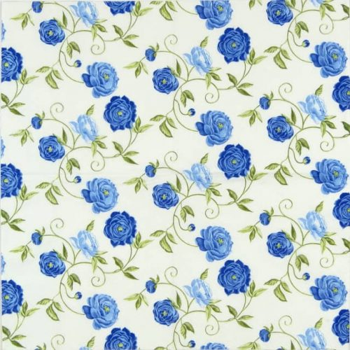 Lunch Napkins (20) - Peony Blue