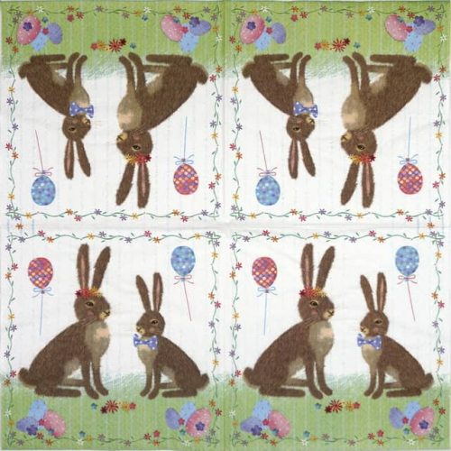 Paper Napkin - Easter party