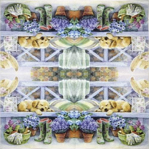 Lunch Napkins (20) - Gardening Break