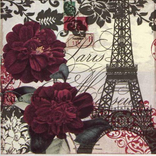 Paper Napkin - Art Parisienne