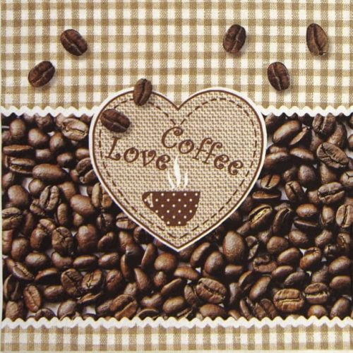 Paper Napkin - Coffee love