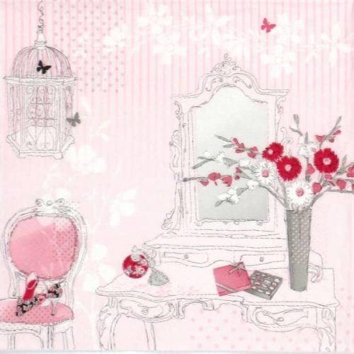 Lunch Napkins (20) - Dressing Pink