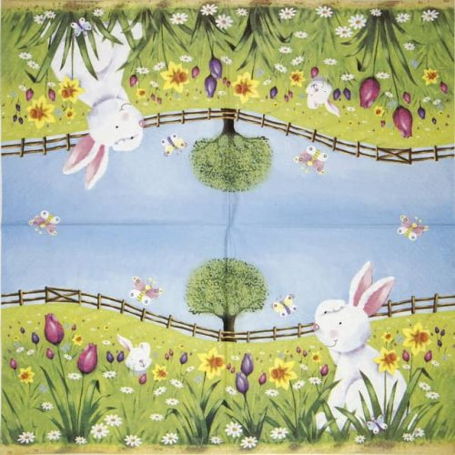 Lunch Napkins (20) - Easter hide and seek