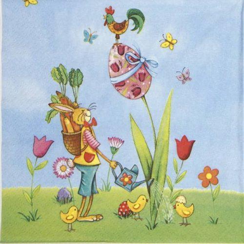 Paper Napkin - Pasqua in Giardino