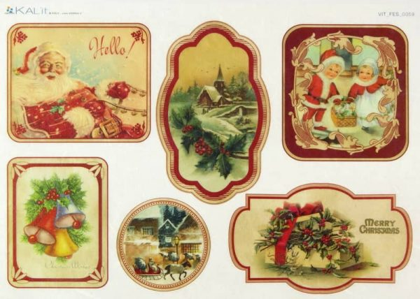 Rice Paper - Hello Christmas