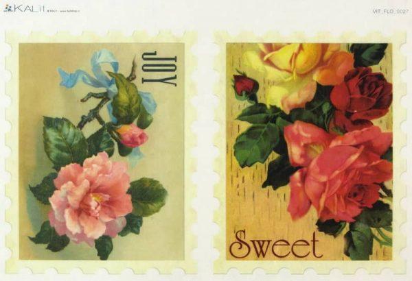Rice Paper - Roses Joy-Sweet