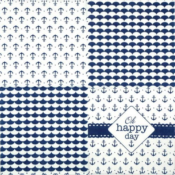 Lunch Napkins (20) - Happy Day