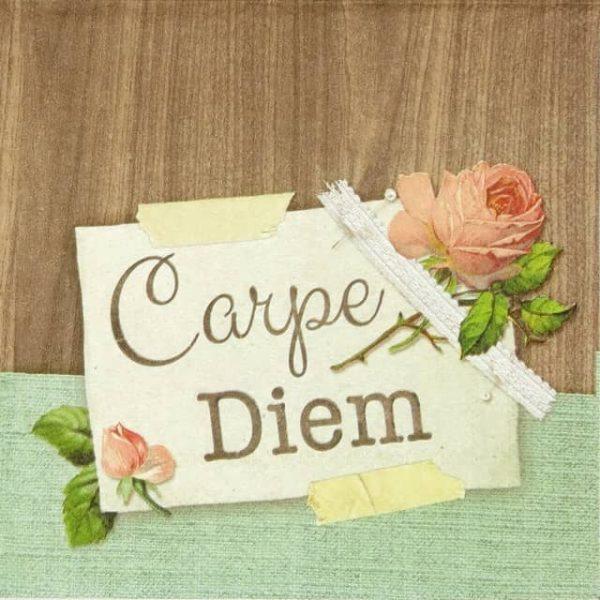 Paper Napkin - Carpe Diem