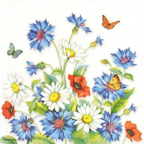 Paper Napkin - Cornflower