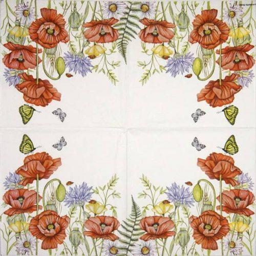 Paper Napkin - Summertime white