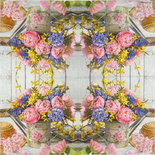 Paper Napkin - Jardin Bouquet
