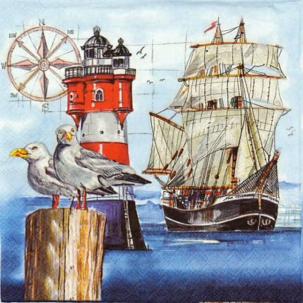 Paper Napkin - Harbor