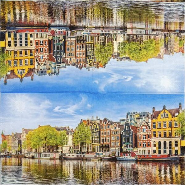 Lunch Napkins (20) - Canal houses