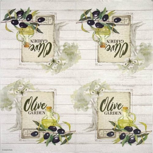 Paper Napkin - Olive garden
