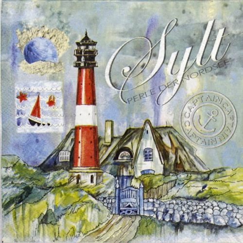 Paper Napkin - Sylt pearl