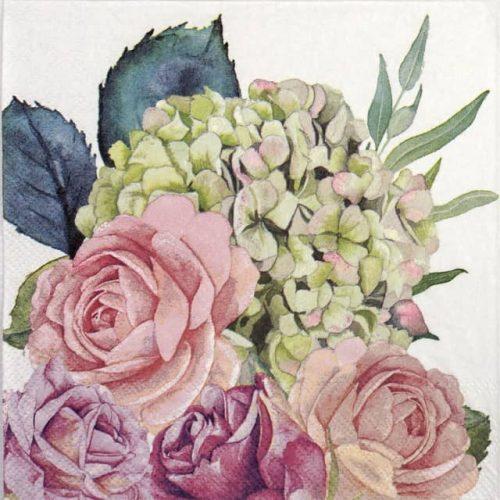 Lunch Napkins (20) - Rose garden