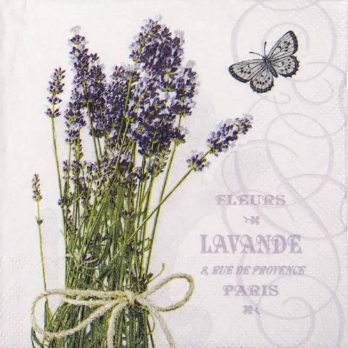Lunch Napkins (20) - Bunch of Lavender