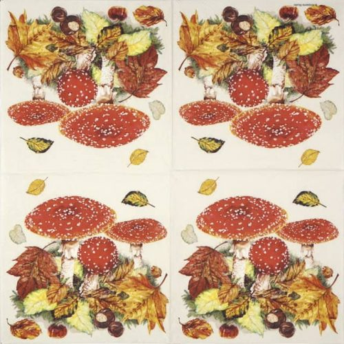 Paper Napkin - Fly Agaric