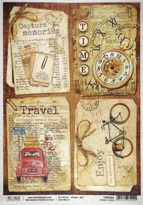 Rice Paper - Travel Cards