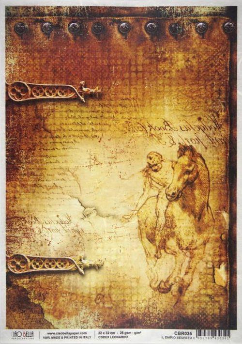 Rice Paper - Il diario segreto - Leonardo