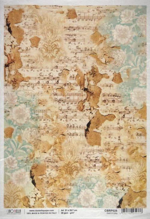 Rice Paper - Partitura