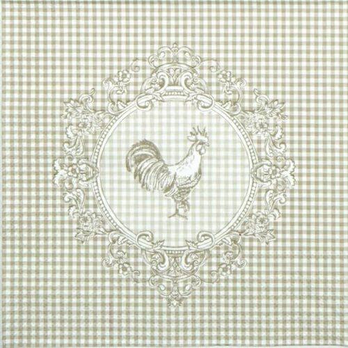 Paper Napkin - Rooster Linen