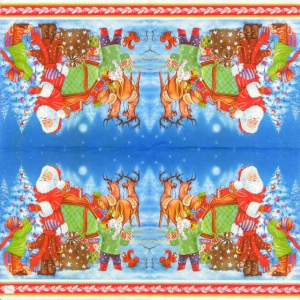 Lunch Napkins (20) - Christmas Presents