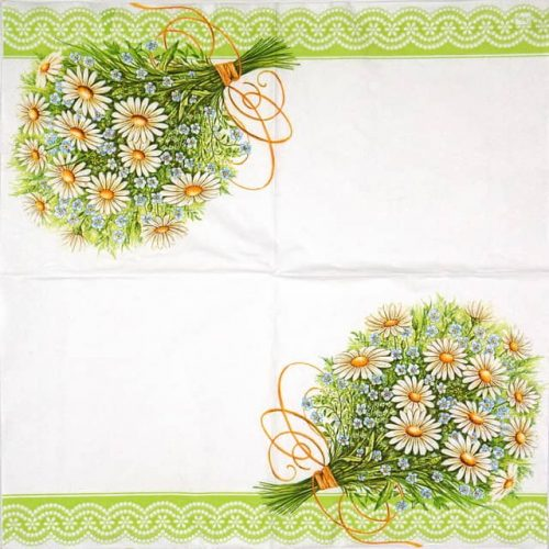 Paper Napkin - Bunch of Daisies