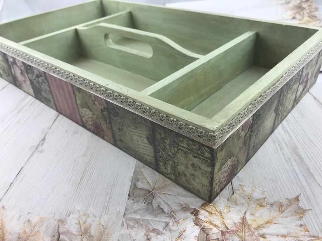 Decoupage tray