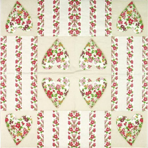 Lunch Napkins (20) - Patchwork Love