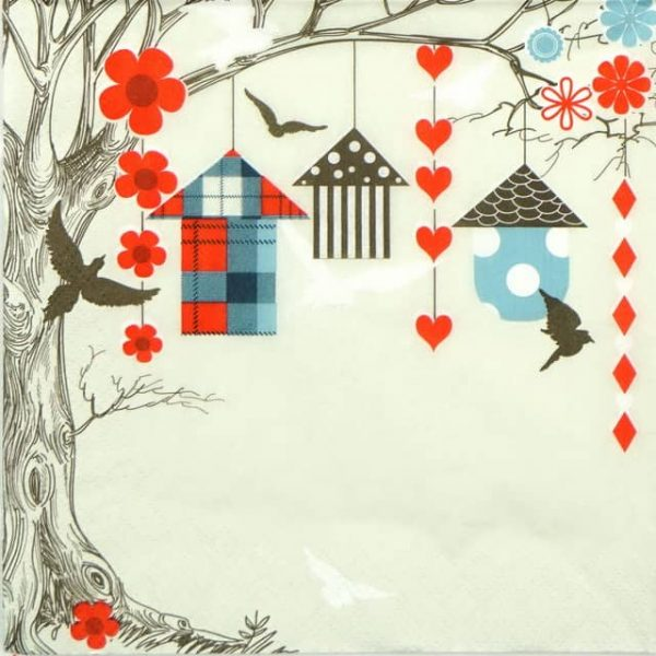 Paper Napkin - Colorful Garden