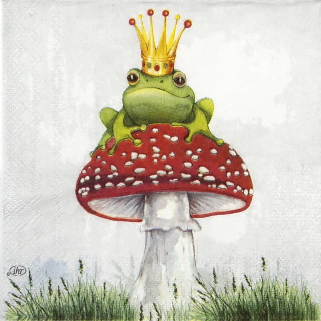 Lunch Napkins (20) - Lucky Frog