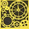 Stencil_ITD_ST00071B_Clock and Gears