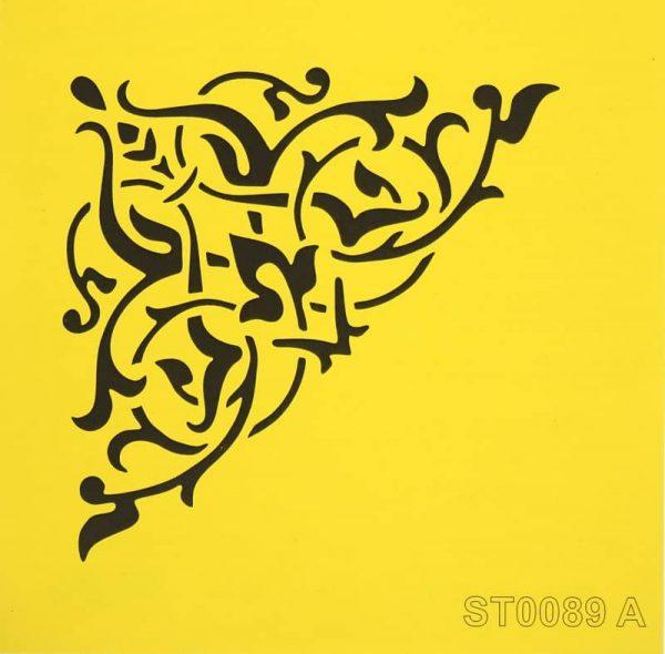 Stencil_ITD_ST0089A_Fancy Corner