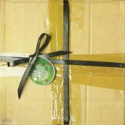 Paper Napkin - Christmas Box
