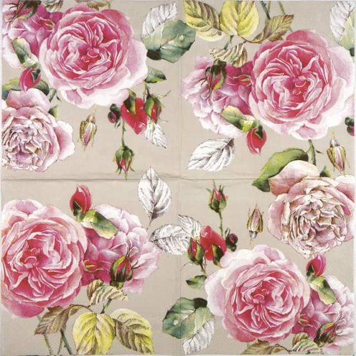 Lunch Napkins (20) - Tea Rose linen