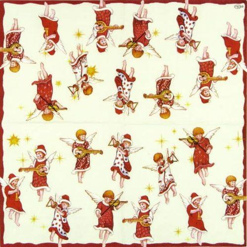 Paper Napkin - Angels Concert