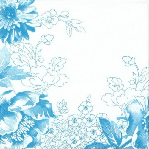 Lunch Napkins (20) - Cosy Blue