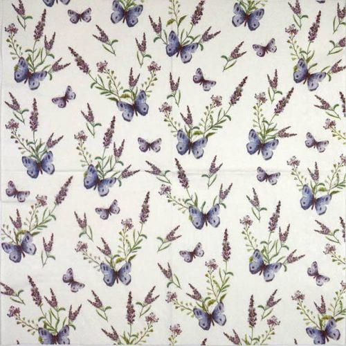 Paper Napkin - La Lavender Cream