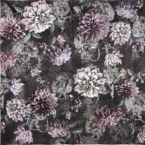 Paper Napkin - Daria dark grey