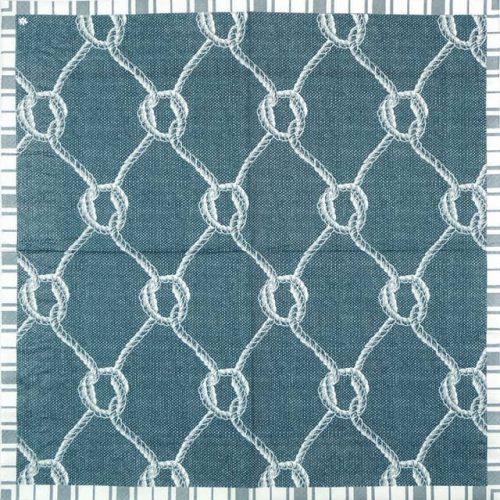 Lunch Napkins (20) - Blue Knots