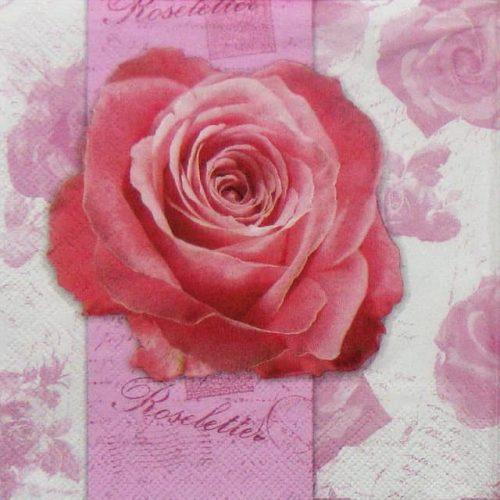 Paper Napkin - Roseletter