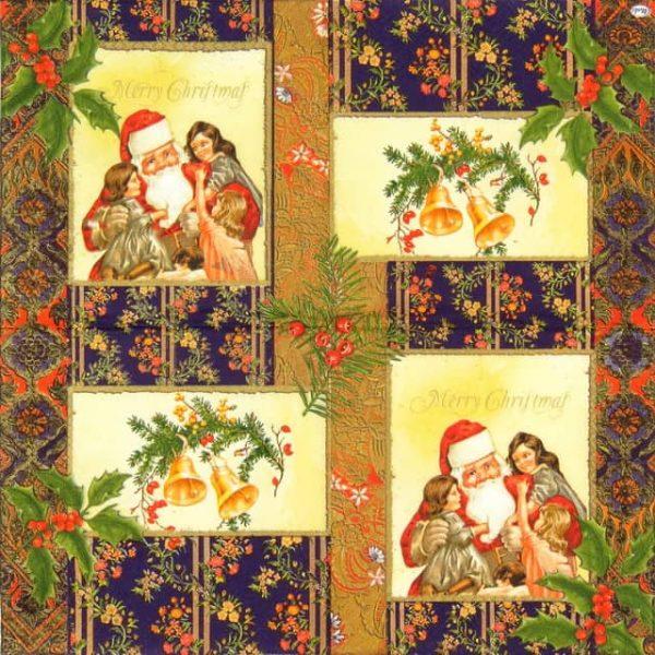 Lunch Napkins (20) - Christmas Santa