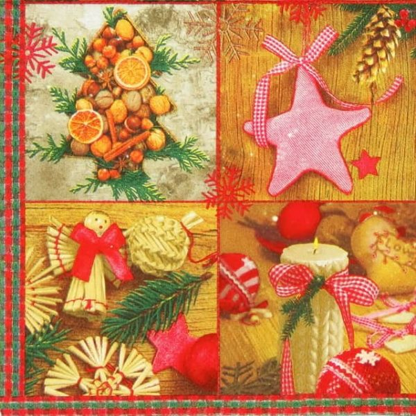 Lunch Napkins (20) - Christmas Country