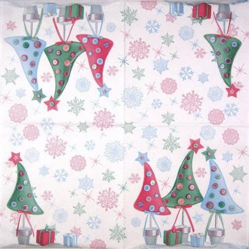 Paper Napkin - Santa Claus red_Maki_SLGW012001