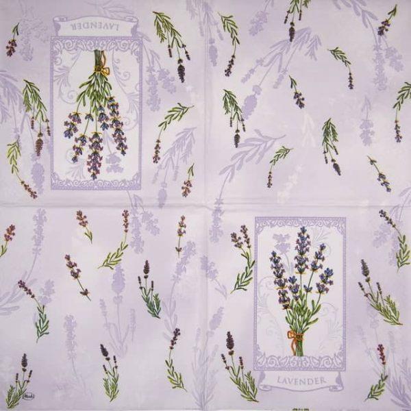 Paper Napkin - Romantic Lavender