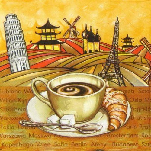 Paper Napkin - Breakfast